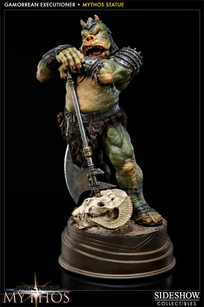 Sideshow - Mythos - Lomrokk - Jabba's Gamorrean Executioner MythosGamor18