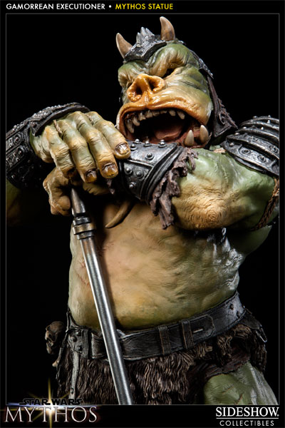 Sideshow - Mythos - Lomrokk - Jabba's Gamorrean Executioner MythosGamor19