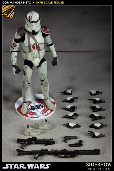 Sideshow - Commander Neyo - 12 inch Figure   Neyo03