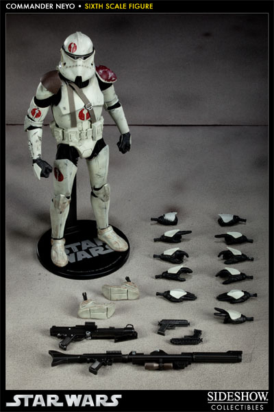 Sideshow - Commander Neyo - 12 inch Figure   Neyo10