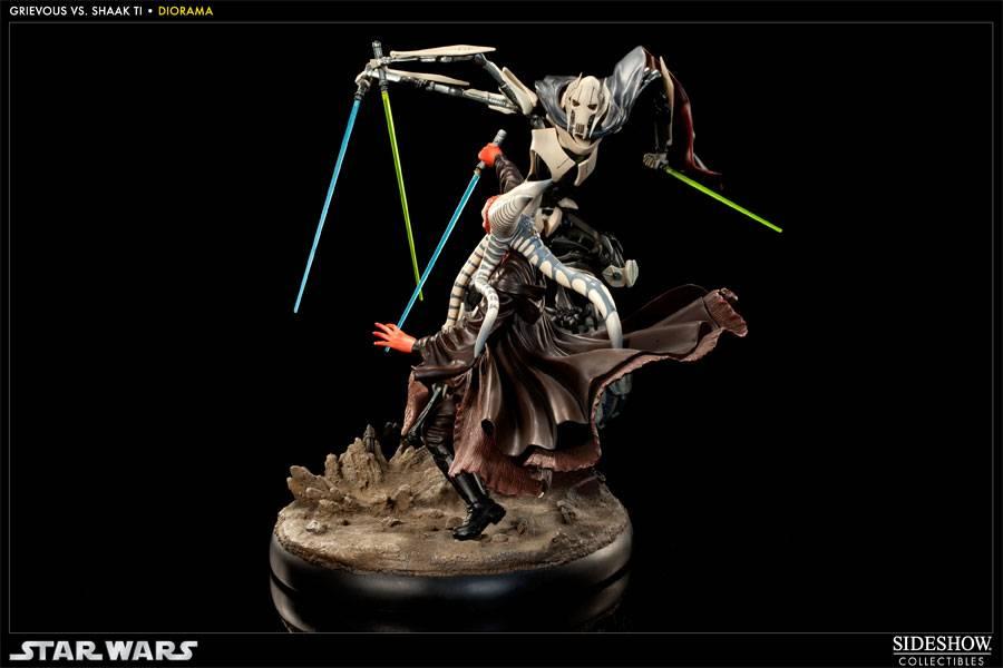 Sideshow - General Grievous Vs Jedi Master Shaak Ti  - Page 2 ShaakTiVSGrievous04