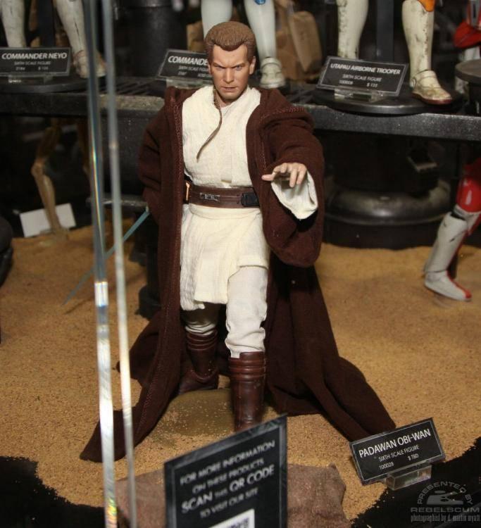 Sideshow - Padawan Obi-Wan Kenobi 12-Inch Figure SidPadaObi01