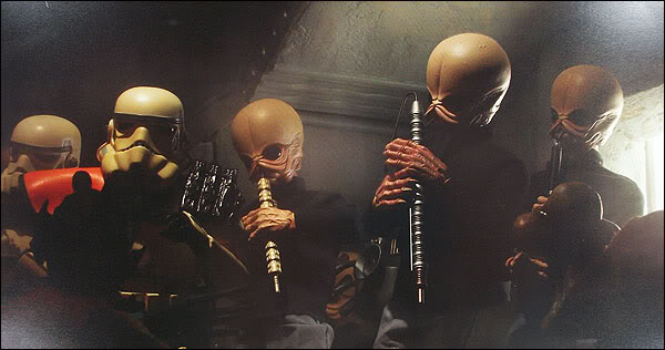Sideshow - 12' - Figrin D'an And The Modal Nodes  SideshowFigrinDan01