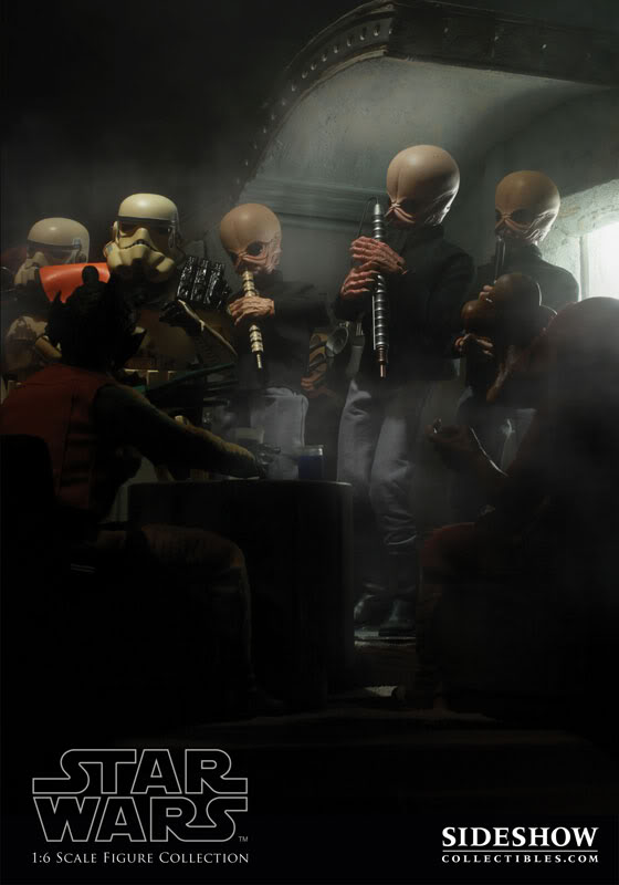 Sideshow - 12' - Figrin D'an And The Modal Nodes  SideshowFigrinDan03