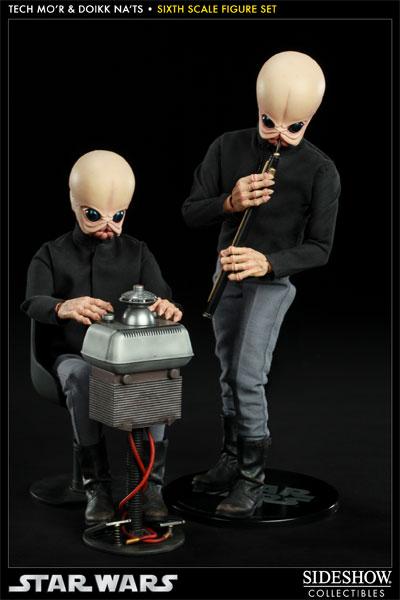 Sideshow - Tech Mo'r & Doikk Na'ts Bith - Sixth Scale Figure TechMo07