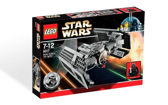 LEGO - 8017 - Darth Vader's TIE Fighter TieVador01