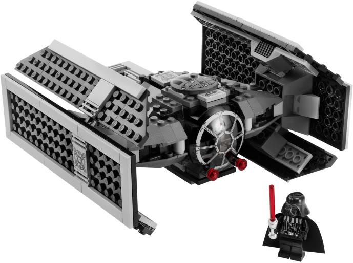 LEGO - 8017 - Darth Vader's TIE Fighter TieVador02