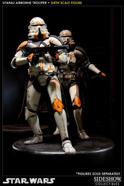 "Sideshow - Utapau Airborne - Sixth Scale Figure 12"" Utapau014"