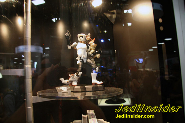 Gentle Giant - Animated Maquette - Scout Trooper Ewok Attack GGScootAttackEwoks02
