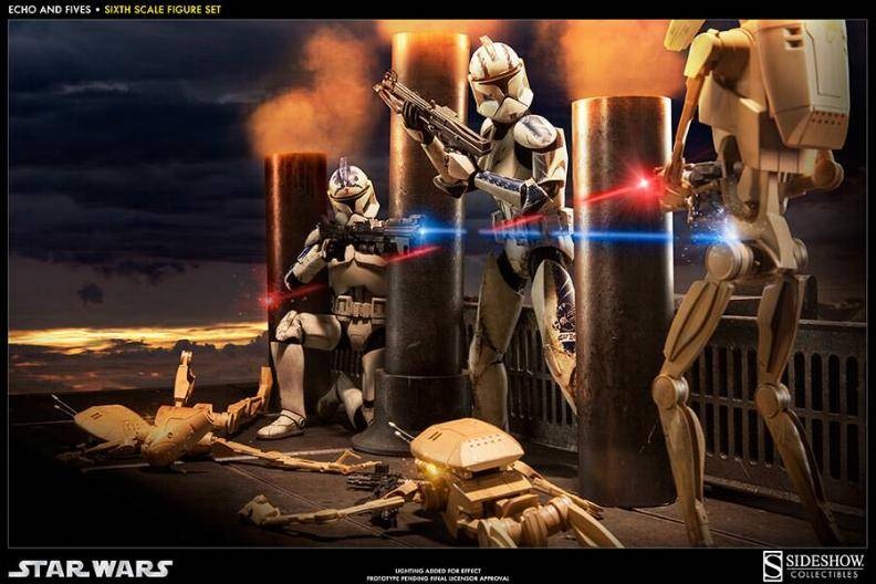 Sideshow - Clone Troopers: Echo and Five Sixth Scale Figure EchoandFive01_zps83b176cb
