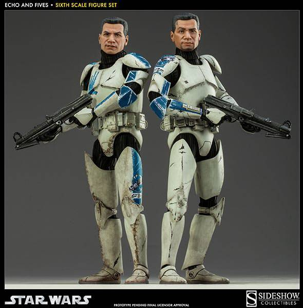 Sideshow - Clone Troopers: Echo and Five Sixth Scale Figure EchoandFive03_zps29413685