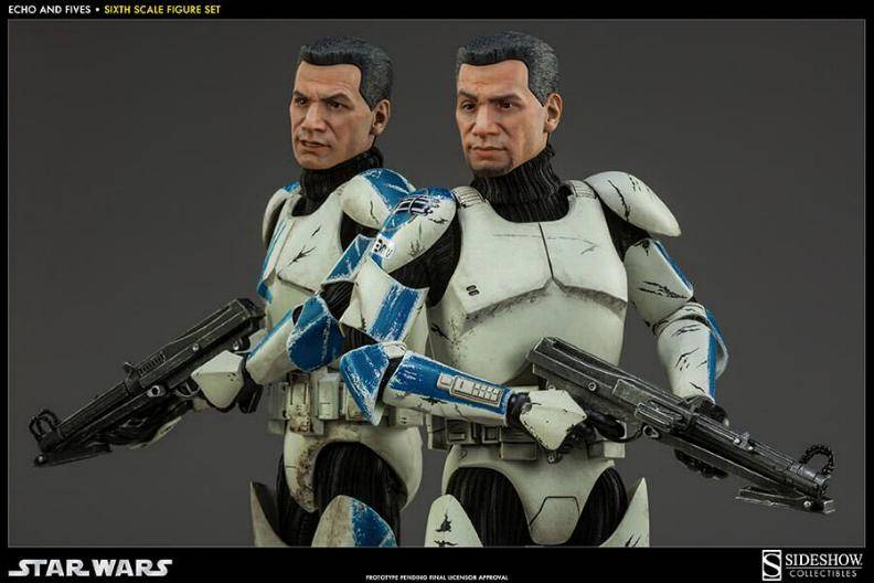Sideshow - Clone Troopers: Echo and Five Sixth Scale Figure EchoandFive04_zpsef793bb9