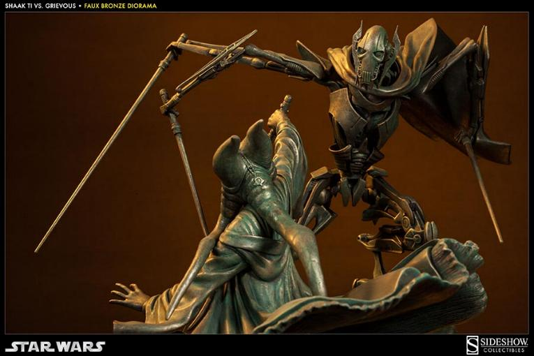 Sideshow - 'Hunt for the Jedi' Shaak Ti VS General Grievous TiVSGrievousFB01_zpsc9ad7554