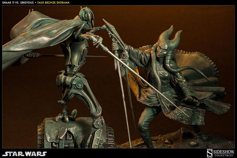 Sideshow - 'Hunt for the Jedi' Shaak Ti VS General Grievous TiVSGrievousFB02_zps074217ae