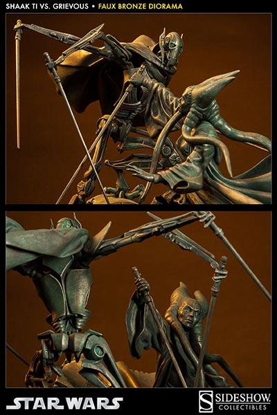 Sideshow - 'Hunt for the Jedi' Shaak Ti VS General Grievous TiVSGrievousFB03_zps10a5ef17