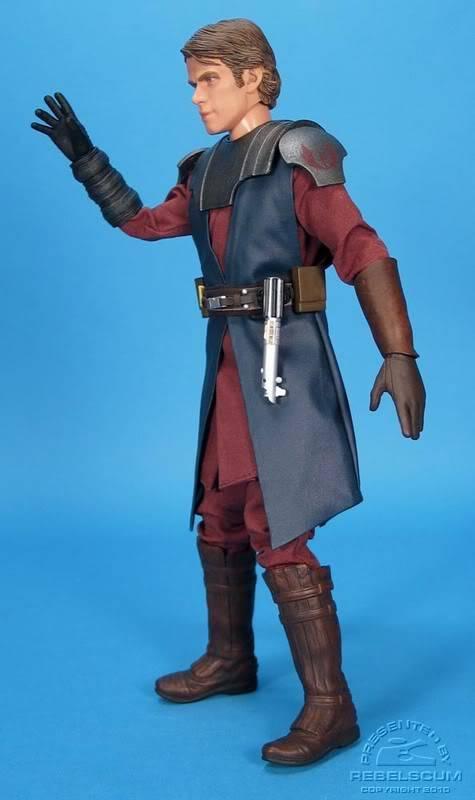 Anakin Skywalker - Clone Wars 12 inch figure SideshowCWANAKIN03