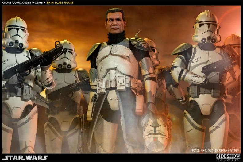 Sideshow Collectibles 1/6 Scale Clone Commander Wolffe  Wolffe01_zps8b0089c0