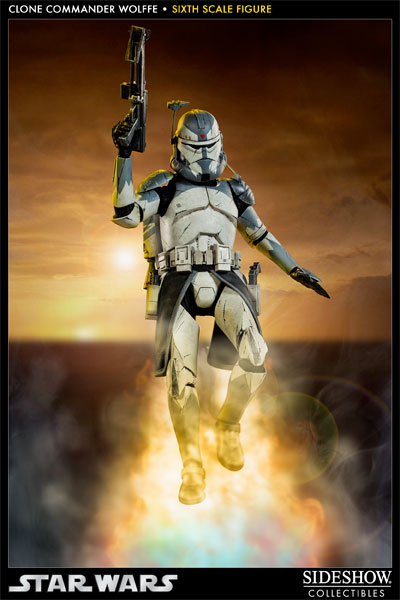 Sideshow Collectibles 1/6 Scale Clone Commander Wolffe  Wolffe02_zps95ff305c