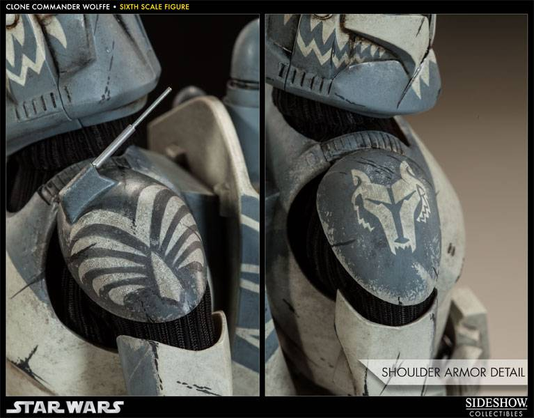Sideshow Collectibles 1/6 Scale Clone Commander Wolffe  Wolffe03_zps8c5474fc