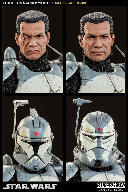 Sideshow Collectibles 1/6 Scale Clone Commander Wolffe  Wolffe04_zpscce23cbd