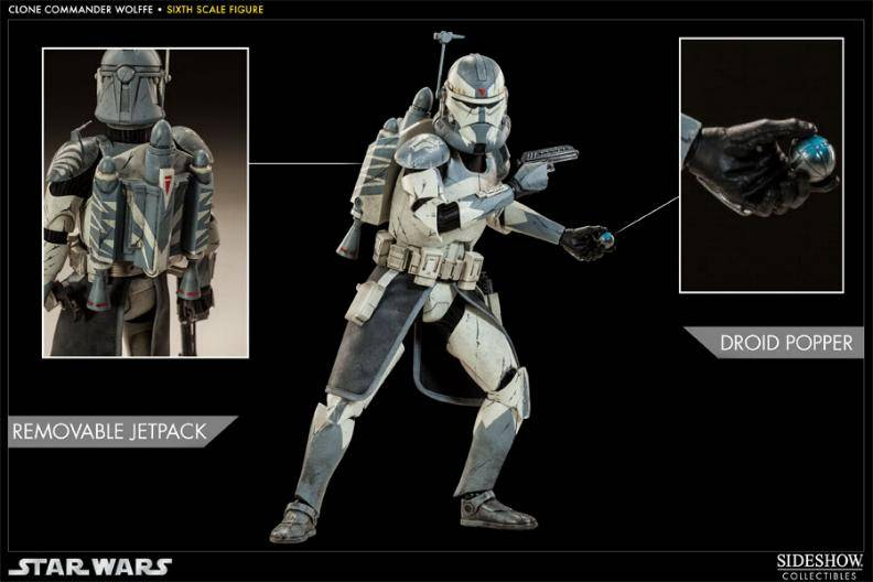 Sideshow Collectibles 1/6 Scale Clone Commander Wolffe  Wolffe05_zps59c5e088