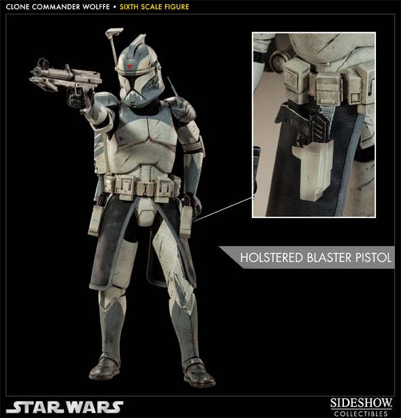 Sideshow Collectibles 1/6 Scale Clone Commander Wolffe  Wolffe06_zps73b35e2a