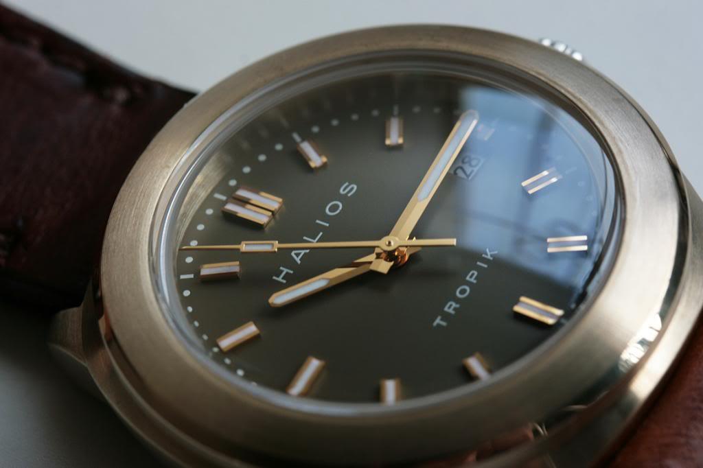 Bronze watches in general... TropikBDialCloseup