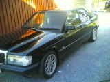 Mercedes190- MB 190 2.3-8v Turbo projekt/bruksbil 25072008001