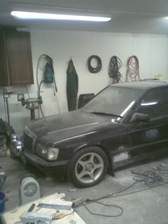 Mercedes190- MB 190 2.3-8v Turbo projekt/bruksbil Bild056