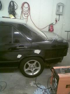 Mercedes190- MB 190 2.3-8v Turbo projekt/bruksbil Bild057