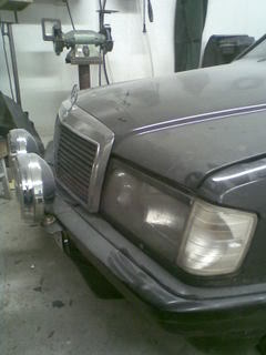 Mercedes190- MB 190 2.3-8v Turbo projekt/bruksbil Bild059