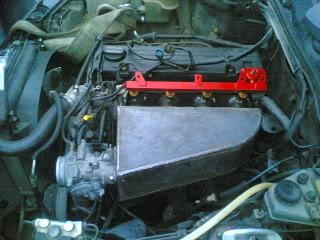 Mercedes190- MB 190 2.3-8v Turbo projekt/bruksbil Srtuhjesr