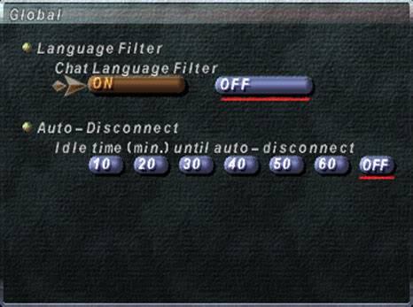 FFXI In-Game Configuration