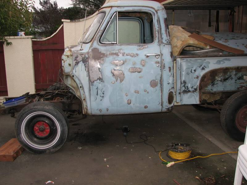 '53 Ford down under....build thread. F100017