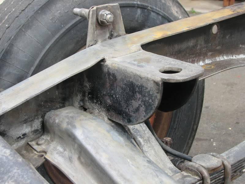 '53 Ford down under....build thread. F100enginemount002