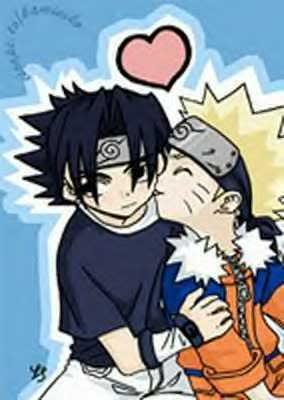 Sasuke x Naruto(SasuNaru) Sasunarukissy