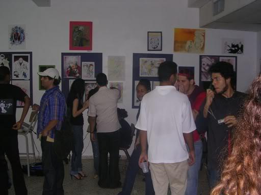 Fotos Exposicion Comics y Manga, UASD--Octubre 2007- DSCN3947