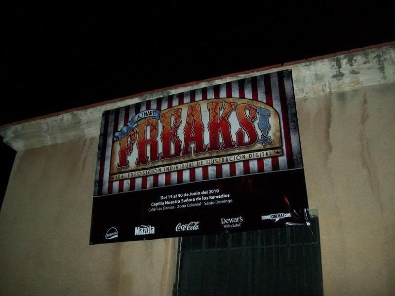 Exposición AJ Marti: FREAKS! - Invitacion Picture072