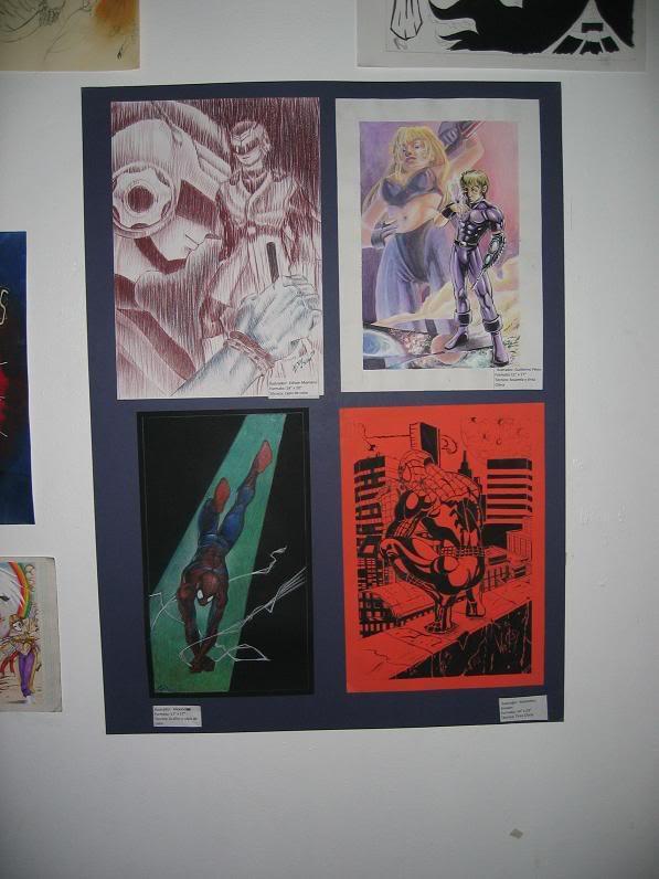 Fotos Exposicion Comics y Manga, UASD--Octubre 2007- Cmdpics001