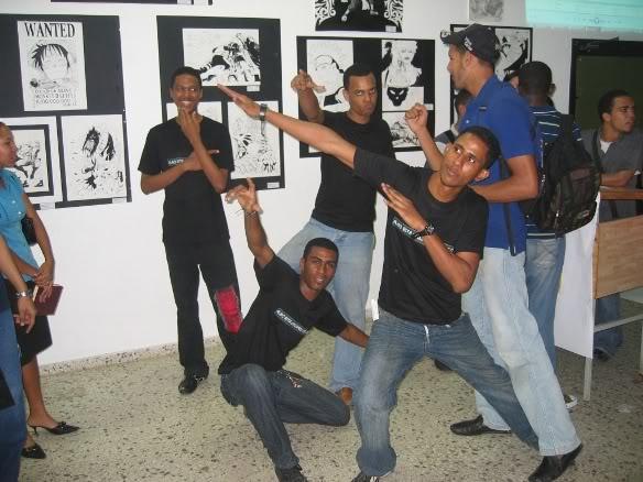 Fotos Exposicion Comics y Manga, UASD--Octubre 2007- Cmdpics010