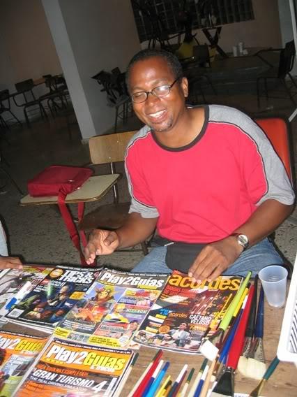 Fotos Exposicion Comics y Manga, UASD--Octubre 2007- Cmdpics099