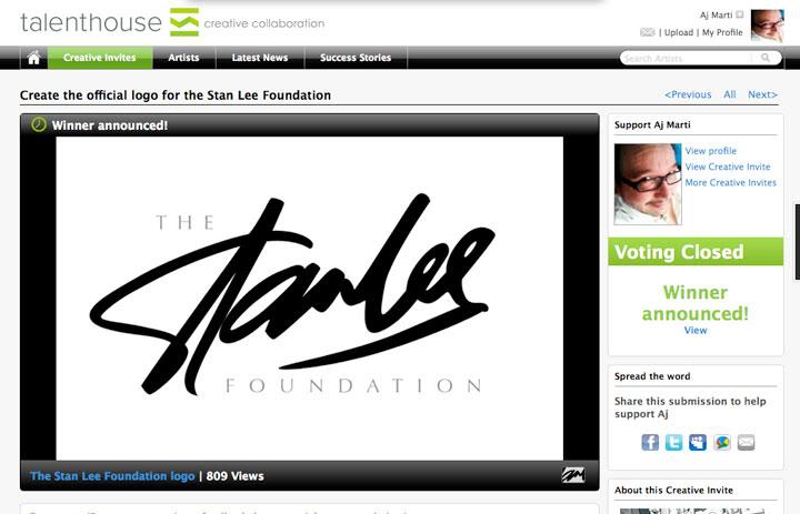 AJ MARTI MEETS STAN LEE-- AJ Martí conoce a Stan Lee Screen