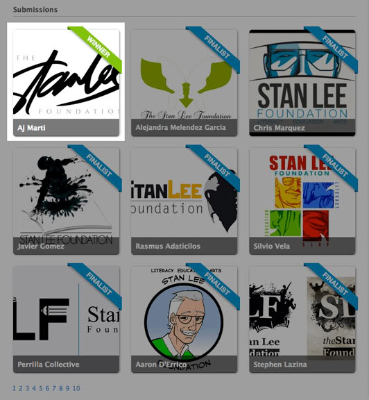 AJ MARTI MEETS STAN LEE-- AJ Martí conoce a Stan Lee Slflogo