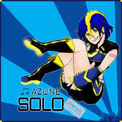 Solo Azune (あず音ソロ) Solo-UTAU-Release-1