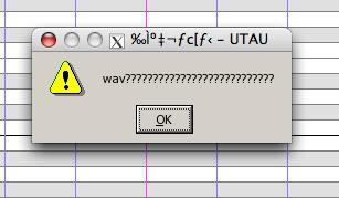 UTAU won't sing...;; Probably a common problem... Utau1