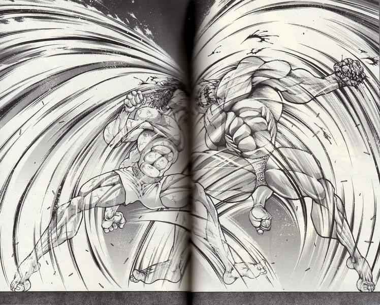 [Character(โอ้วชิท~!!!)] บุคลิกที่ 2 ของชายแห่งสายลม ดิ้กกี้กะอีกบุคลิกของดิ้กกี้ ดิ้กกี้พลังเค~!!!! Baki009