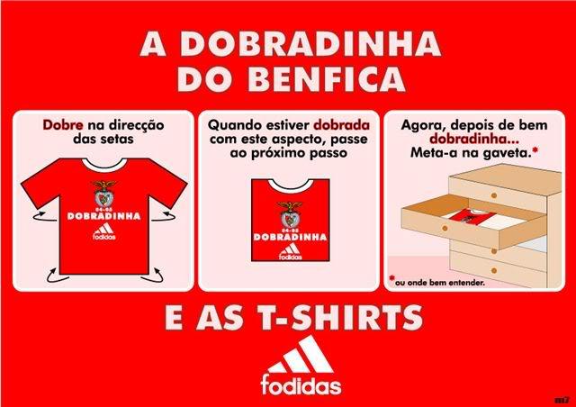 A Dobradinha do Benfica T_SHIRT
