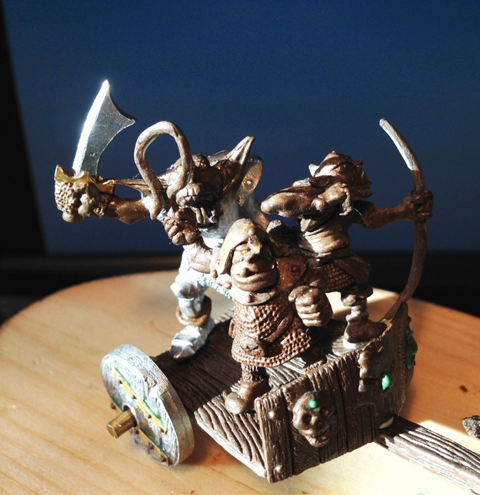 Oldhammer Miniatures by Andrew Taylor Chariot%203.