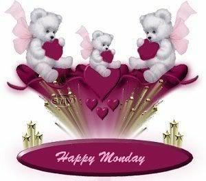 happy monday teddy bears