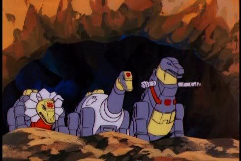 Anime Crush Dinobots